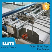 one side coated duplex board
