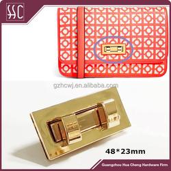Guangzhou High quality wholesale decorative both twist bags lock