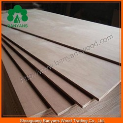 18mm MR glue Poplar Core Commercial Plywood for Furniture