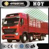 Sinotruck Howo 8x4 van Cargo Truck /Heavy Duty Lorry truck