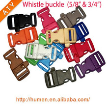 3/8'' colorful plastic side quick release buckle