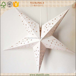 Nude Chinese paper star lanterns for christmas