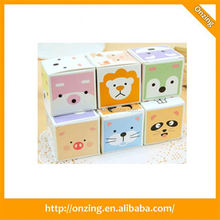 Onzing good quality ball pen with memo cubes