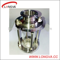 triclamp tube sight glass