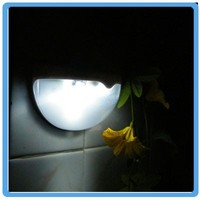 Shenzhen LED rechargeable battery wall light 850 mA Patent solar wall lighting