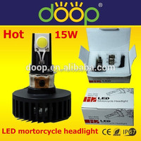 The hot-selling IP68 15W LED Motorcycle Headlight led in promotion