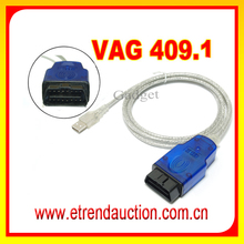 New Products 2015 Competitive Price VAG 409.1 COM Interface 409.1 KKL VAG 409.1 OBD2 USB Cable Car Diagnostic Tool