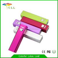 Hot Portable Charger 2600mah Manual For Power Bank Mini Mobile Phone Charger