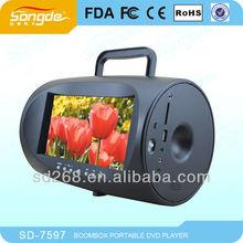Unique 7'' Portable Multimedia Player boombox
