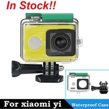 Original Xiaomi Yi Action Camera Waterproof Case, 40M Diving Waterproof, Xiao Yi Camera Case
