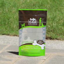 2015 HOT Sales PET Small food packaging Printed Silver Foil Bag