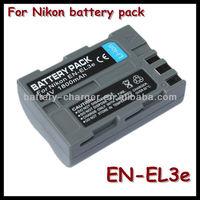 Hot Sale 7.4V 1800mah Li-ion Battery EN-EL3E for Nikon D300s D700 D50 D70 D80 D90 D100 D200