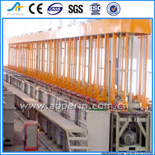 automatic rotation elevating plating line copper melting machine equip product