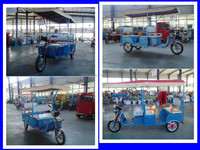 Hot sale ! pedicabs/ tuk tuk for sale with DC motor made in China