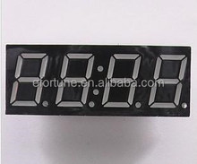 With clock 4 bit digital tube, 0.56 inch CC/CA (Red as Default, other colors should consult)