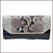 Fashion small bag in hot selling for snake genuine leather