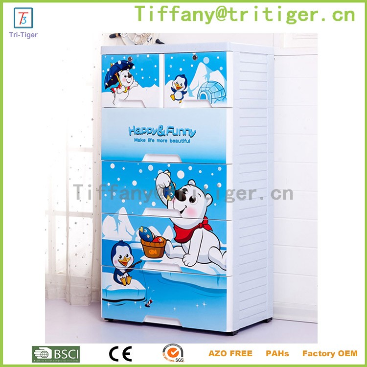 Blue color livingroom outdoor plastic storage cheap wardrobe cabinets for kids (6).jpg