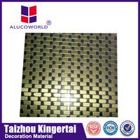 aluminium cladding sheet /3mm tongue and groove interior wall cladding Aluminum composite panel(ACP)