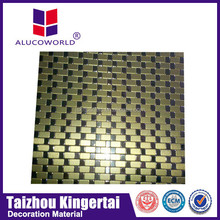 aluminium cladding sheet /3mm tongue and groove interior wall cladding Aluminum composite panel(ACP)