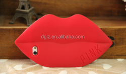 supplier colorful hard 3d lip silicone soft handbag cover case for ipad mini 1 2 2nd 2gen with high quality