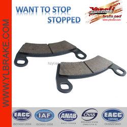 ATV brake pad for POLARIS 400 Ranger/Ranger 500 4x4 EFI;good quality brake pad for POLARIS ATV;Competitive price ATV brake pad