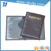 Simple passport holder and name card holder gift set
