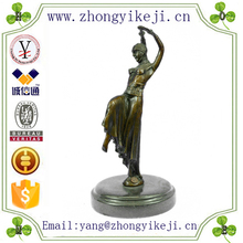 2015 chinese factory custom made handmade carved hot new products resin ancient bronze sculptures