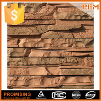 Building facade stone design low water absorption stone slate floor tile