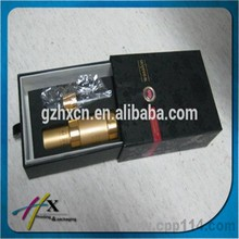 Slide Drawer Box with Ribbon Handle, Cosmetic Packaging Box