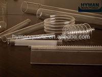 Special Shape Quartz Tube,Spiral quartz tube,Ring shape quartz tube