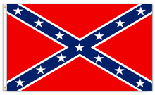 Fast delivery 3x5ft confederate naval jack flag