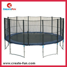 Createfun biggest outdoor cheap trampoline with enclosure net and trampoline tool