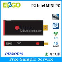 2015 New Arrival micro computer Intel Bay Trail Atom Mini PC Window8, Z3735F Fanless Small Size Mini Computer / Pocket Mini PC