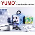 yumo 6w portátil dc operar el sistema solar para uso en el hogar