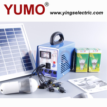YUMO portable 6w dc operate solar system for home use