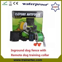 Trainertec beautiful wireless dog fence DF-113R widely used over the world