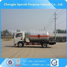 2015 de China 2-axles Q345R 2.5 cbm LPG licuado de petróleo gas tanque camiones ( propano tanque )
