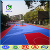 Competitive interlocking basketball court flooring outdoor
