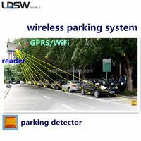 Street Wireless Smart Parking Lot Sensor System