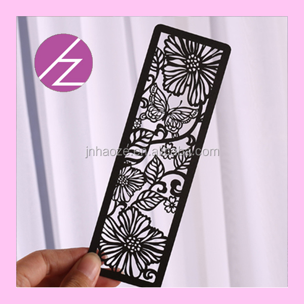 Shipping Paper Craft Wedding Card Paper Laser Cut Bookmark Sq 4