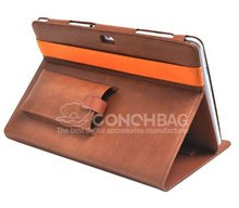 For samsung Galaxy Tab 10.1 P7500 Leather case