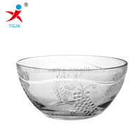 Colored Clear Glass Soup Bowls/ Cheap Soup Bowls for wholesale