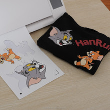 A3 Size Dark Soft Stretch Inkjet Heat Transfer Paper /Inkjet Transfer Paper for pure cotton T-shirt/fabric