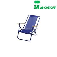 selling brazil popular style metal reclining beach folding chair