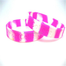 Manufacturer China direct sell europe custom silicone wristbands
