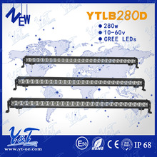 Aluminum housing 6000k 50inch straight led light bar ip68 factory low price