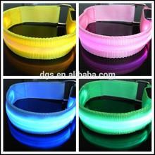 Nueva llegada de colores de seguridad intermitente exterior LED de la cadena del brazo