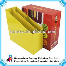 Custom design colour pen cardboard packaging