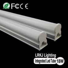 CE ROSH SMD3528 T5 all in one led tube, t5 18w led integrated tube light, 1200mm integrative led t5 tube