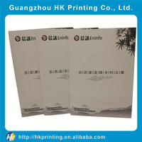 Customized lamination flyer printing leaflet printing